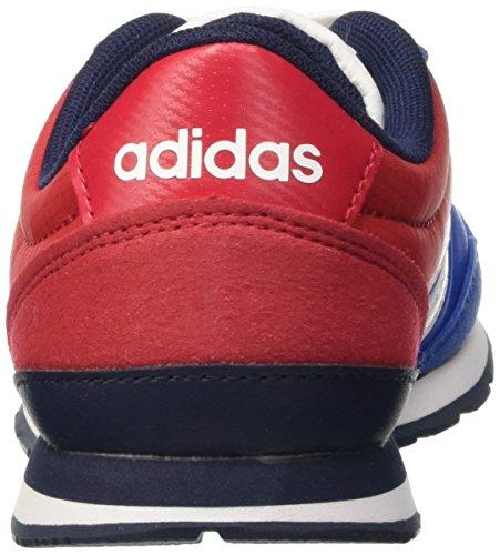 adidas Jungen V Jog K Laufschuhe mehrfarbig (Blue/Ftwwht/Conavy)