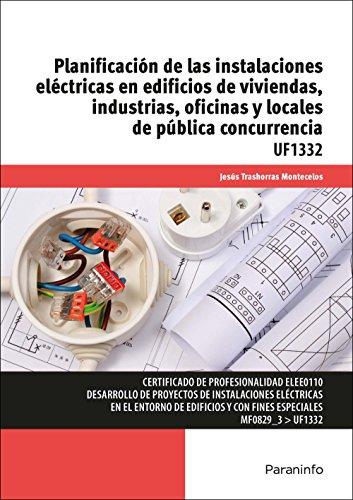 Planificación de las instalaciones eléctricas en edificios de viviendas, industrias, oficinas y locales de pública concurrencia