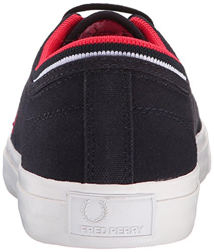 Fred Perry - Kendrick Tipped Cuff, - Uomo Navy
