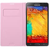Samsung EFWN900B Etui Portefeuille en cuir pour Samsung Galaxy Note 3 Rose