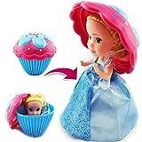 YAGAIU Cupcake Surprise Scented Prinzessin Puppe (Farben und Stile Mai varieren) (8cm/3.15inch)