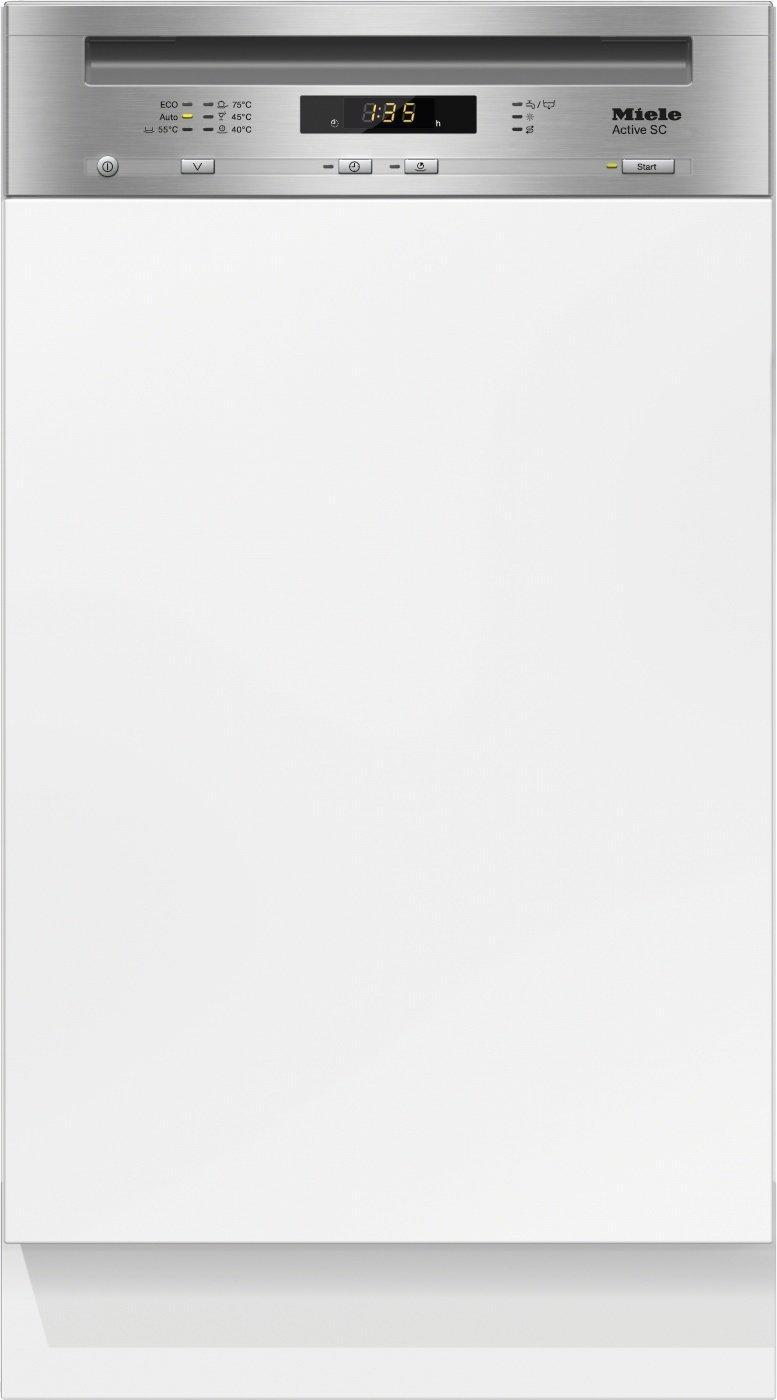 Miele G4620 SCi Active Geschirrspüler Teilintegriert/A+ / 221 kWh/Jahr / 2940 L/Jahr/edelstahl/Besteckschublade
