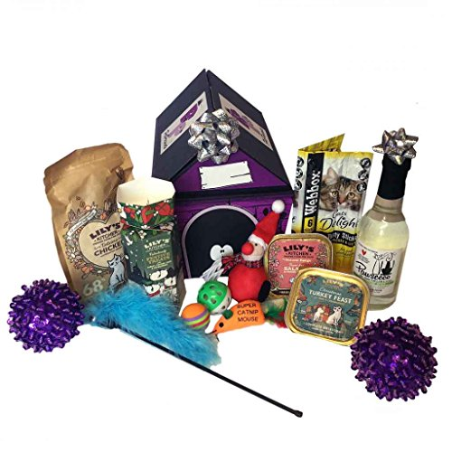 Christmas Toy and Treat hamper for Cats