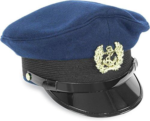 US Marine Mütze mit Marineabzeichen Größe 59