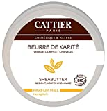 Cattier Sheabutter mit Honigduft, 100 ml