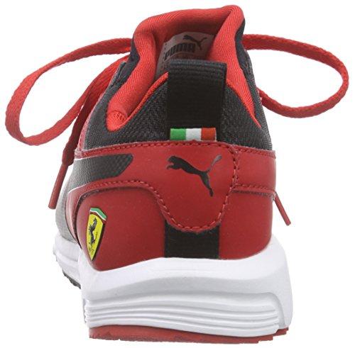 Puma Pitlane Sf Unisex-Erwachsene Low-Top Rot (rosso corsa-black 01)