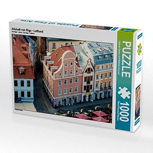 Altstadt von Riga - Lettland 1000 Teile Puzzle quer