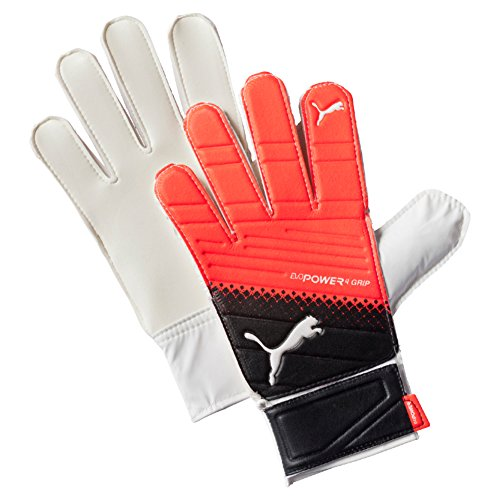 PUMA Torwarthandschuhe evoPOWER Grip 4.3, Black/Red Blast/White, 8, 041227 20