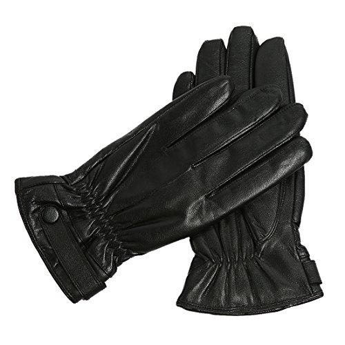 Herren Winter echte Lederhandschuhe / warme Futterhandschuhe fahren