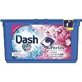 Dash 2en1 - Perles - Lessive Capsules Pivoine & Fleurs de Cerisier - 38 Lavages