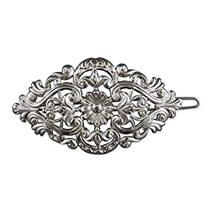 Rivelle Damen Trachten Haarspange Amelie alt-Silber Haarschmuck Vintage Hochzeit Metall Silber