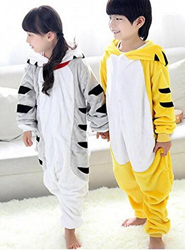CWJ Pyjamas-Kids Cartoon Flanell Tier Neuheit Kostüme Cosplay Pyjamas Rollenspiel Halloween Play ()