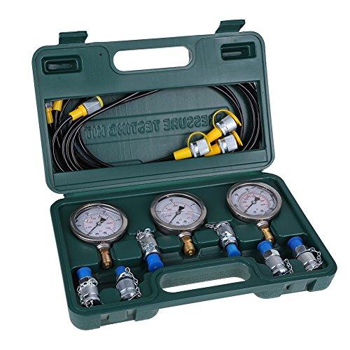 Bagger-Hydraulikdruck-Test-Kit mit Prüfung Schlauchkupplung und Messgerät für Bagger Baumaschinen