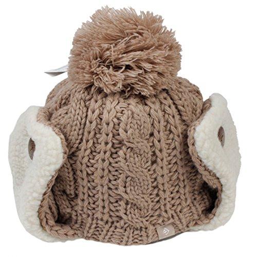 Kenmont Kenmont Frauen-Mädchen-Mütze mit Ohrenklappe One Size (Einheitsgröße)