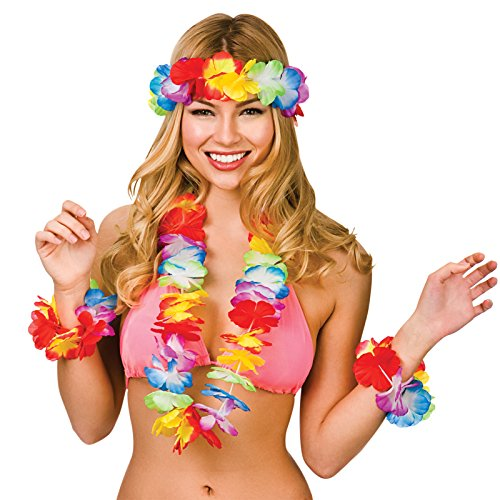 Wicked Costumes Hawaiian Lei Set...