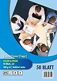 PVP 6171 - Color and Print Kopierpapier DIN A4, 160 g/qm, 50 Blatt, hochweiß
