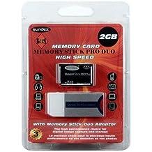 Memory Stick Pro-Duo 4Go + Adaptateur