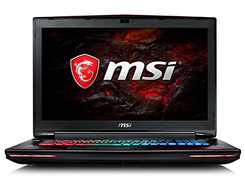 'MSI Gaming gt72vr 7RE (Dominator Pro Dragon Edition) -634it 2.8 GHz i7 – 7700hq 17.3 1920 x 1080pixel schwarz, rot Notebook