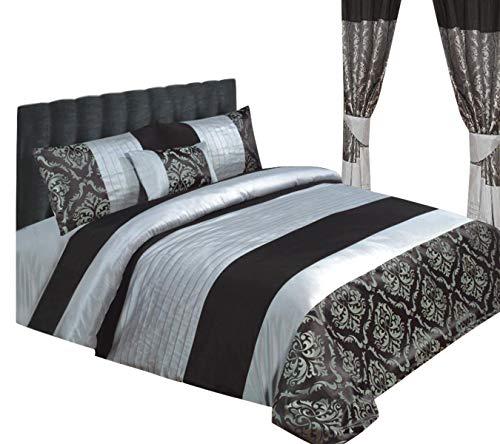 e24cd7b8 Funda nórdica / fundas de almohadas y cojín en seda sintética para camas  doble, tamaño