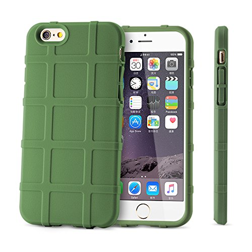 BELK iPhone 6 6S, robuste, stoßfeste, Defender Case Cover TPU Soft Schutzhülle-Best iPhone 6 cm starke 6S 4,7 Armour Hybrid Schutzhülle, Beige iPhone6/6s beige iPhone6/6s plus green