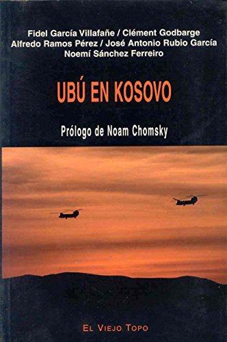 Portada del libro Ubú en Kosovo (Ensayo)