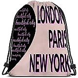 BOUIA Annata di Concetto del Cuore del Cuore dell'emblema di New York City Paris London Emblem del tipografo dei capitelli della Borsa