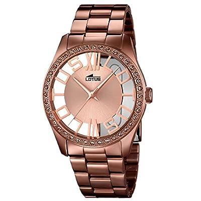 Lotus Reloj Analógico para Mujer de Cuarzo con Correa en Acero Inoxidable 18129/1 de Lotus