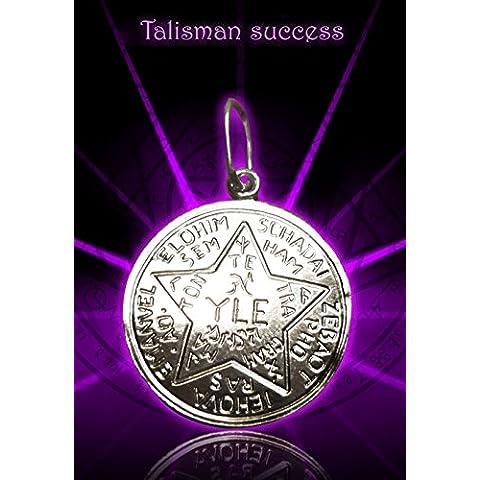 Unico successo Sterling runa dell'Argento Talisman