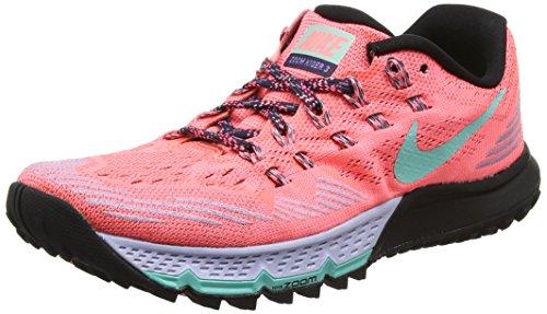 Nike W Air Zoom Terra Kiger 3, Scarpe da Corsa Donna Rosso (Lava Glow/orchid/black/hyper Turquoise)