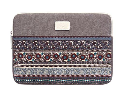 11-15 Pouces Bohême Housse pour Ordinateur Portable Pochette Sacoche pour Ultrabook Netbook Tablette