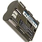 """'Minadax Pro Batterie Li-Ion """"Grande Capacité 1600mAh pour Canon–Comme le BP-511A"""