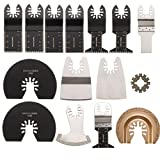 51EzN%2BSiyKL. SL160  - NO.1 BEST POWER TOOL REVIEW Saver 15pcs Saw Blades Kit for Rockwell Sonicrafter Worx Oscillating Multitool Accessory COMPARE BUY PRICE UK