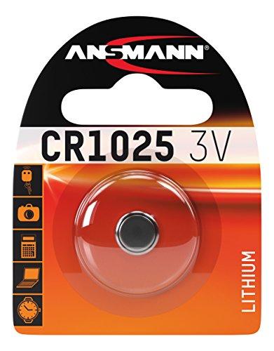 ANSMANN 1516-0005 Knofpzelle Batterie Lithium CR 1025 - 3V