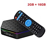 EMSMIL Smart TV BOX Android 7.1 Octa Core Amlogic S912 T95Z Plus 2GB DDR3 RAM 16GB EMMC Flash Streaming Media Player Unterstützt 2.4G 5G Dual Band WIFI Bluetooth 4.0 LAN HDMI 1080P UHD 4K 3D