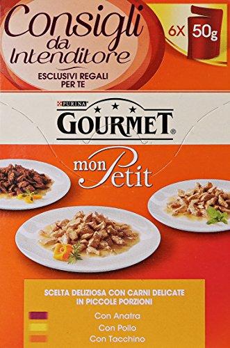 gourmet-mon-petit-anatra-pollo-tacchino-8-confezioni-da-6-pezzi-da-50-g-48-pezzi-2400-g