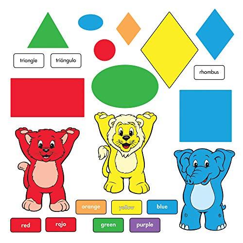 TREND Enterprises Inc. T-8010 Bulletin Board Set in Farben und Formen (EN/SP) (Spanische Sprache Aktivitäten)