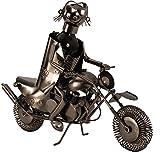 Flaschenhalter Motorrad Weinhalter Metall Flaschenständer