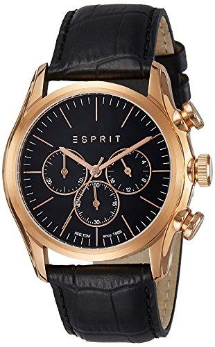 Esprit ES108801001 Men's Analog Watch - Black Dial