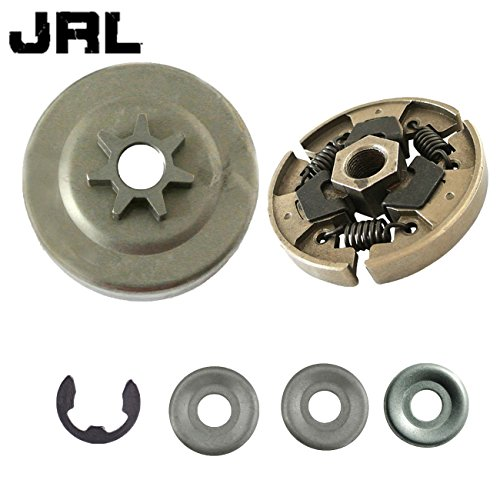 JRL 3/20,3cm -6t Kupplung Drum W/Cover & Waschmaschine Passgenau Stihl 017018021023025MS170MS180