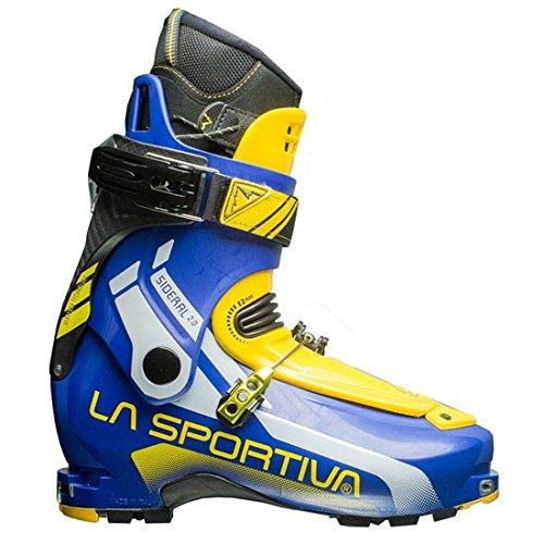 La Sportiva Sideral 2.0 - Botas de esquí de travesía, Color Amarillo/Azul, Talla 28.5