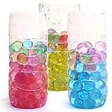 10 Bolsas X Bolas Agua Cristal Abalorios para Decorar Acuario Plantas Flores