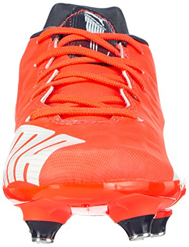 Puma - Evospeed 4.4 Sg Jr, Scarpe da calcio Unisex – Bambini Arancione (Orange (lava blast-white-total eclipse 01))