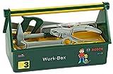 Theo Klein 8460 - Bosch Werkzeugkasten mit Bosch-Werkeugen, 30cm, Spielzeug