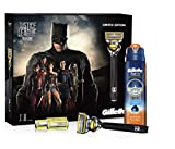 Gillette Fusion Limited Edition Geschenkset ProShield + Gel 170 ml, Batman