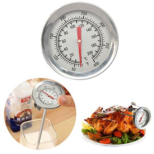 BephaMart Teekini Edelstahl BBQ Sonde Thermometer Barbecue Lebensmittel Fleisch Kochen Thermometer
