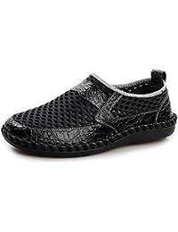 AgeeMi Shoes Hombre Slip-On Plano Transpirable Zapatillas