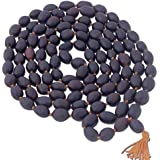Shree Shyam Original 108 Lotus Seeds Kamal Gatta Mala for Japa, Laxmi Pooja and Wearing 33 inch