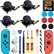 Joycon Joystick Replacement, (4 Pack) Switch Analog Stick Parts for Nintendo Switch Joy Con, Controller Repair