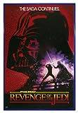 Close Up Star Wars Poster Revenge of the Jedi (94x63,5 cm) gerahmt in: Rahmen blau