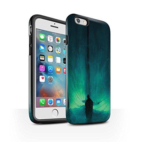 Offiziell Chris Cold Hülle / Glanz Harten Stoßfest Case für Apple iPhone 6+/Plus 5.5 / Pack 10pcs Muster / Dunkle Kunst Dämon Kollektion Bösen Herzens